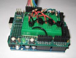 [testing my transistor circuit]