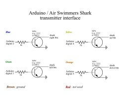 [Circuit for the Arduino-controlled Air Swimmers Shark]