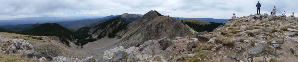 [Panorama from Deception Peak]