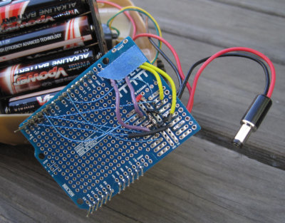 [Homemade, super cheap Arduino motor shield]