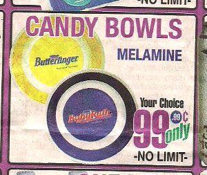 Mmm, melamine