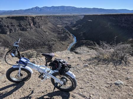 [Lectric XP at the Rio Grande del Norte]