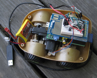 [Raspberry Pi robotic car]
