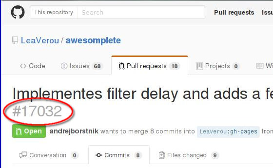 how to create pull request on github