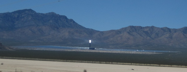 [The working Ivanpah solar collector]