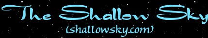 The Shallow Sky (shallowsky.com)