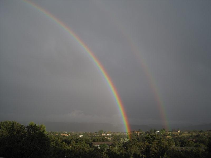 [double rainbow]