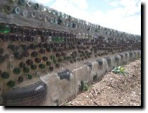 [Earthship construction]