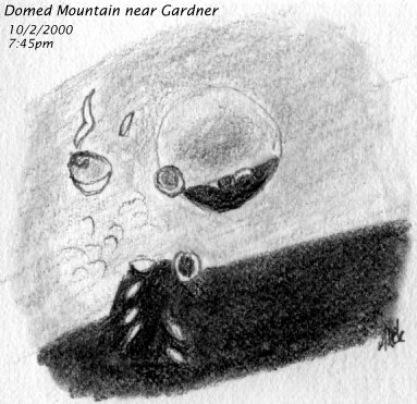 [Domelike mountain near Gardner]